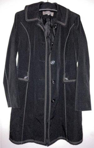 Anne Klein Trench Coat black polyester