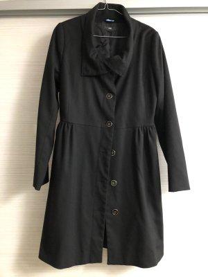 H&M Trench nero Cotone