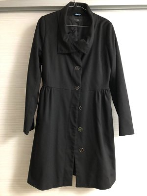 schwarzer Trenchcoat, Gr. M