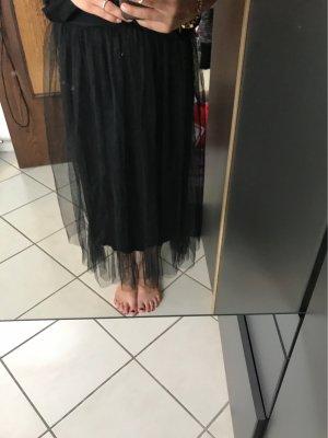 Schwarzer Tüllrock
