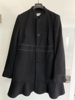 RED Valentino Cappotto corto nero Acetato