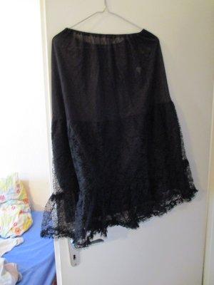 schwarzer Unterrock