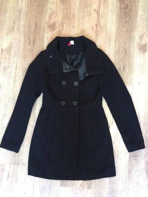 Vintage Oversized jas zwart