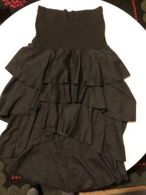 H&M Jupe à volants noir