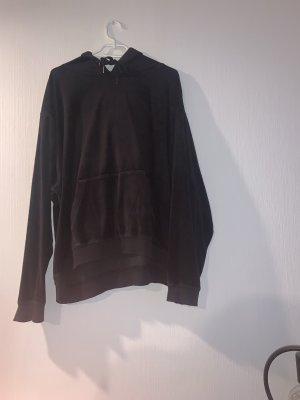 H&M Hooded Sweatshirt black