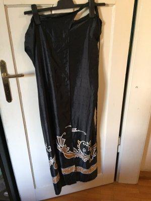 Handmade Wraparound Skirt black-bronze-colored