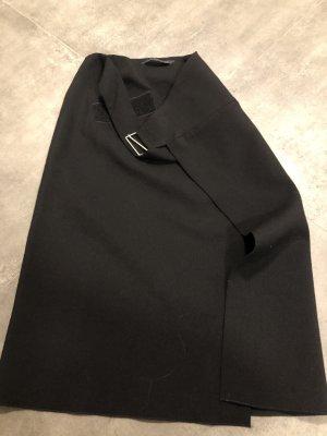 Schwarzer Wickelrock von Zara in S