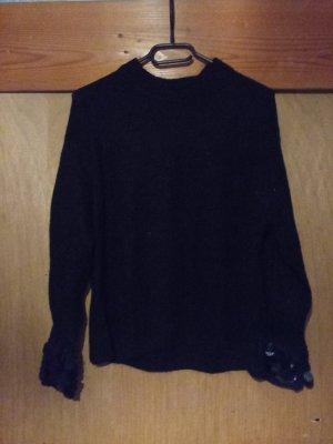 Schwarzer Winterpullover von H&M
