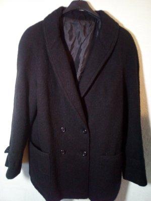 Blazer in lana nero