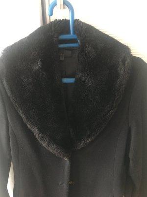 Zara Basic Veste en laine noir