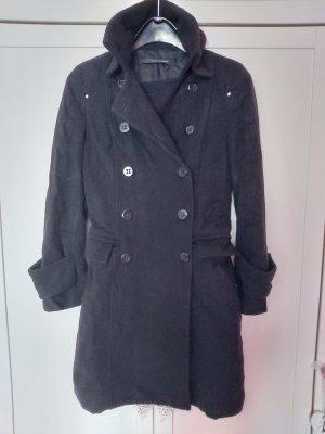 Atos Lombardini Wool Jacket black wool