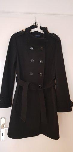 Darling Harbour Wool Coat black