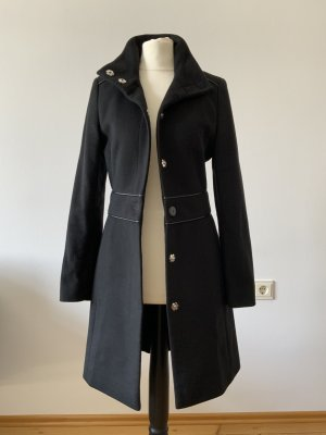 Hugo Boss Wool Coat black