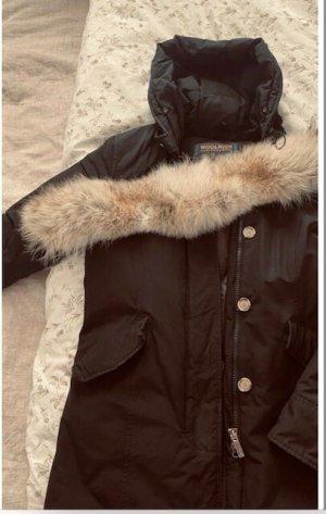 Woolrich Kurtka zimowa czarny Wełna z alpaki