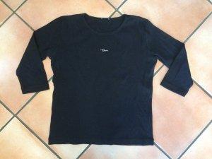 Schwarzes 3/4-Arm Shirt, Gr. L, myOwn