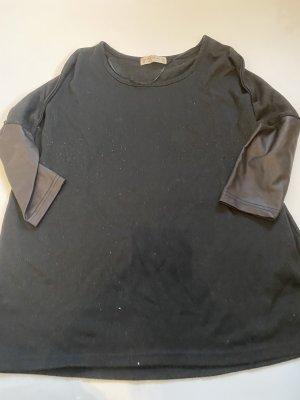 Schwarzes 3/4 Armshirt