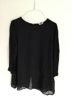 Schwarzes 3/4 Shirt