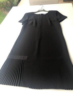 Schwarzes A Linien Kleid , Armani-Jeans