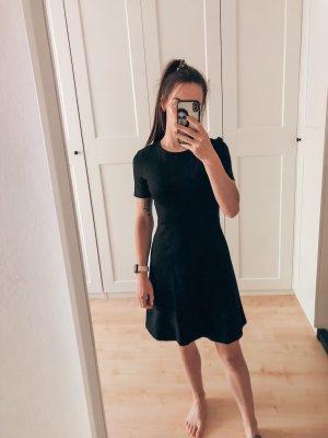 Schwarzes A-Linien-Kleid Esprit