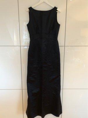 Schwarzes Abendkleid im Etui-Stil von René Lezard