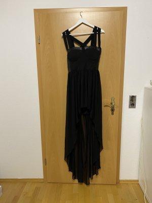 Schwarzes Abendkleid in Gr. L