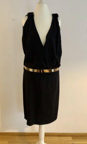 Schwarzes Abendkleid von Alberta Ferretti