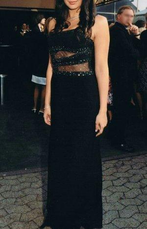 schwarzes Abendkleid von Morgan