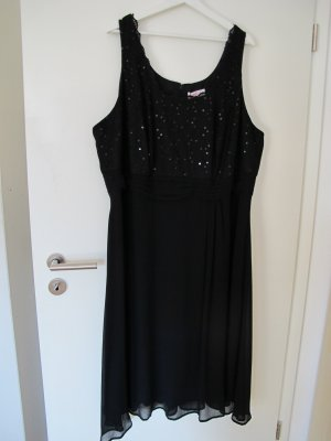 Schwarzes Abendkleid von Sheego