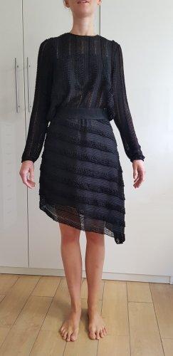 Zara Cut Out Dress black