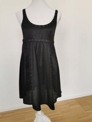 Schwarzes Babydoll Kleid