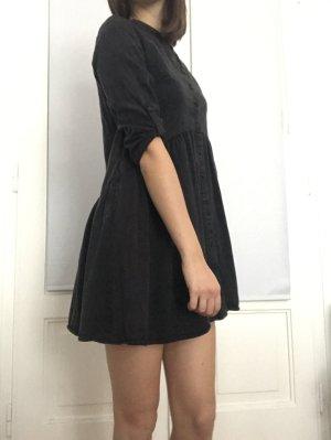 Reserved Babydoll-jurk zwart