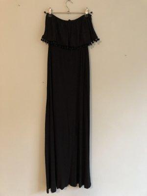 Schwarzes Bandeau Kleid H&M