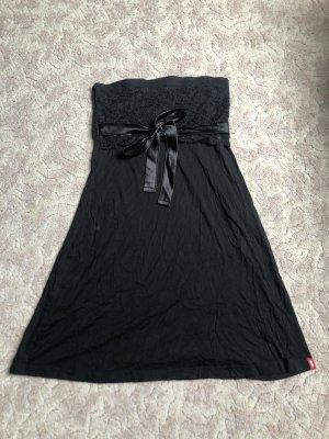 edc by Esprit Vestido bandeau negro