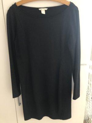 Schwarzes Basic Kleid H&M