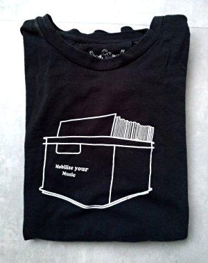 Cyroline T-Shirt white-black