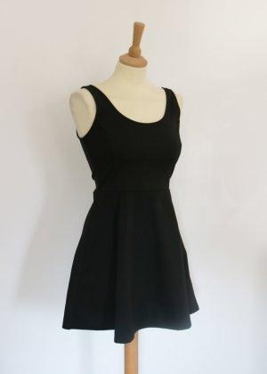 schwarzes Basic Skaterkleid von H&M Conscious 40 Neu