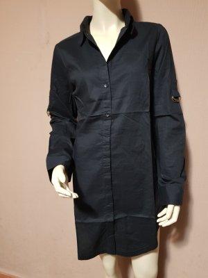 schwarzes Blusenhemd Neu mit Etikett Gr. 36
