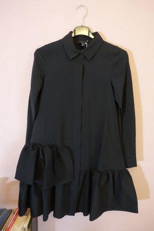COS Shirtwaist dress black mixture fibre