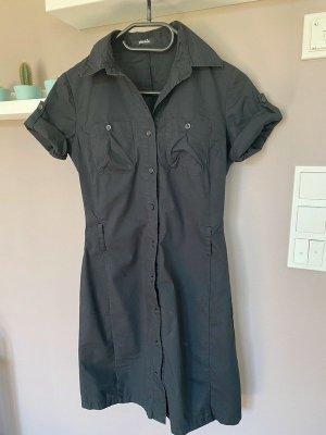 Schwarzes Blusenkleid / Kleid von Pimkie, Gr. 34