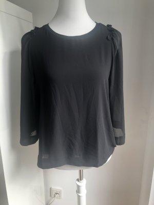 Mango Netshirt zwart