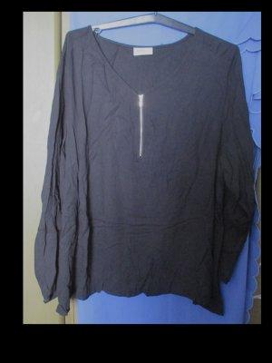 Schwarzes Blusenshirt von Janina Größe 52