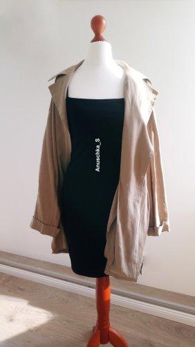 Schwarzes Bodycon Dress Minikleid mit Spagettiträgern Cami Schlauchkleid 90s 90er retro