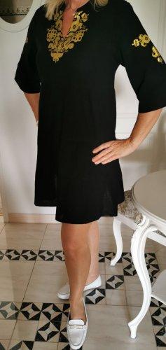 Schwarzes Boutique Kleid Tunika Ge. 36