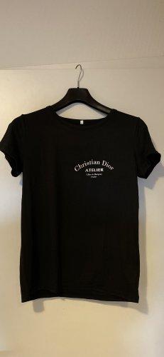Schwarzes CD Shirt