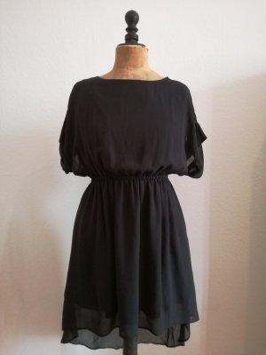 Vila Szyfonowa sukienka czarny