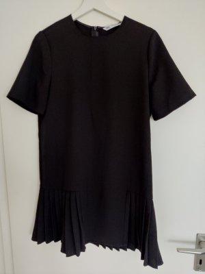 schwarzes Cocktail Kleid Plissee Bund Größe M