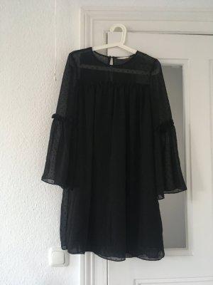 H&M Vestido corte imperio negro