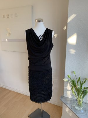 Biba Cocktail Dress black polyester