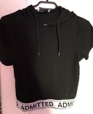 FB Sister Camicia con cappuccio nero-bianco