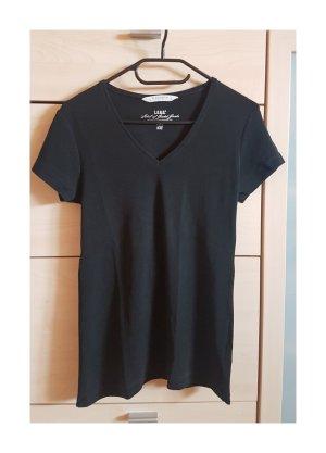 Schwarzes Damen Shirt Größe L